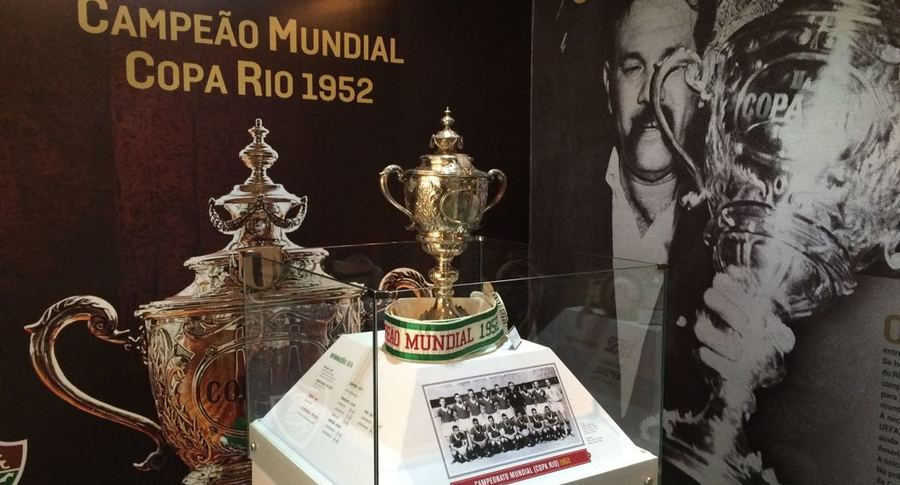 Sala de Troféus exibe material sobre o título da Copa Rio de 1952 —  Fluminense Football Club afb1f0d9a6222