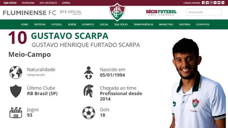 Fluminense apresenta novo site oficial com muitas novidades ... 9c9ef44cd2be5