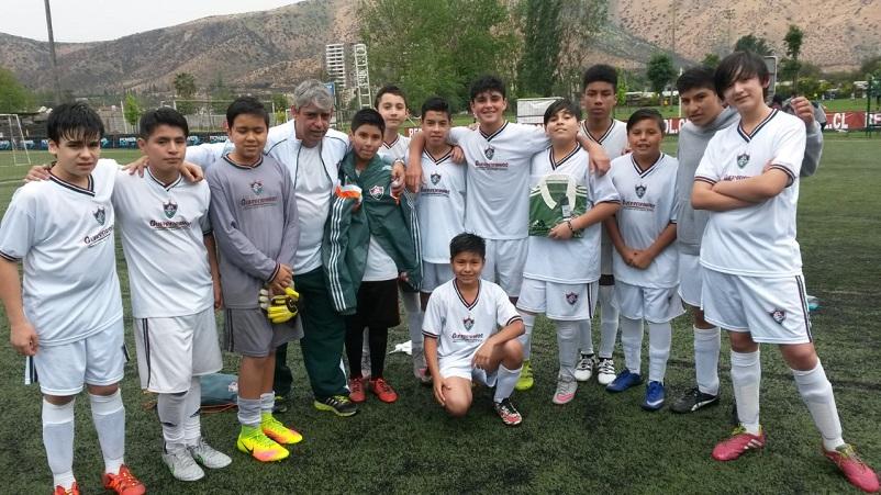 b1ea91dd08 Guerreirinhos do Chile se destacam em competição em Santiago — Fluminense  Football Club