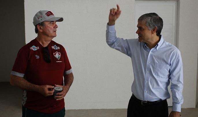 Levir Culpi trata problemas de lesão no Fluminense com naturalidade