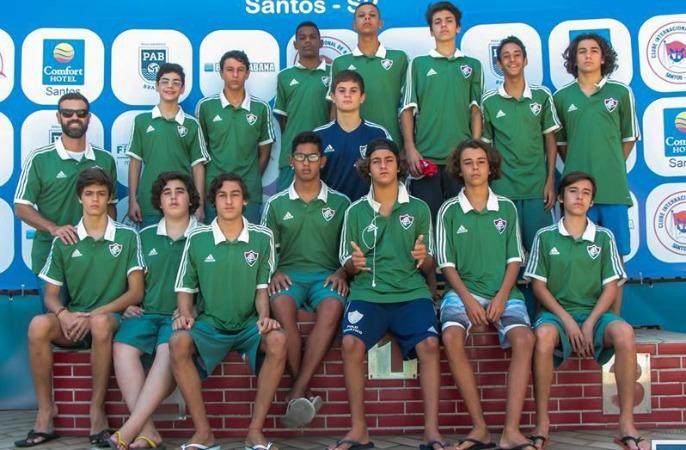 Equipe sub-15 de polo aquático conquista o terceiro lugar no Brasil ... c5050f03538a9