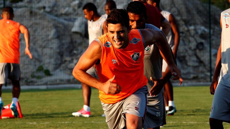 Fluminense trabalha forte em prol do título do Estadual