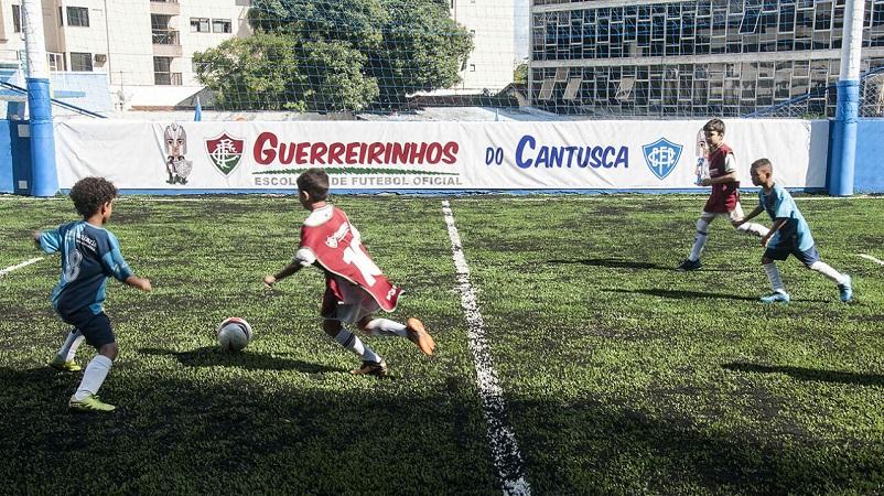 a53d861921 Xerém fecha parceria com Canto do Rio e inaugura Guerreirinhos — Fluminense  Football Club