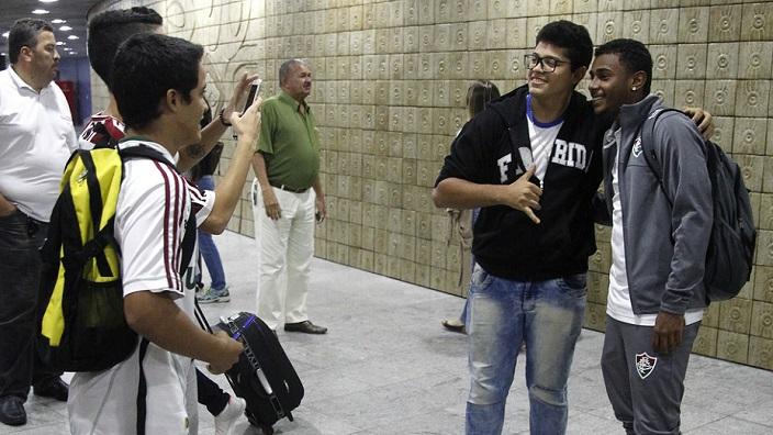 Flu chega e já treina em Recife para encarar o Sport