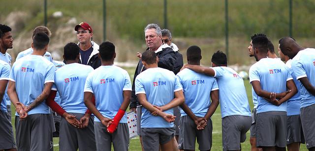 Fluminense se prepara para partida contra o Vasco