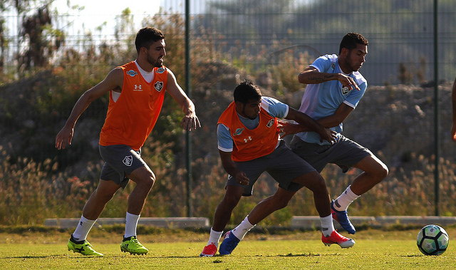 Fluminense volta a treinar de olho na partida contra Londrina