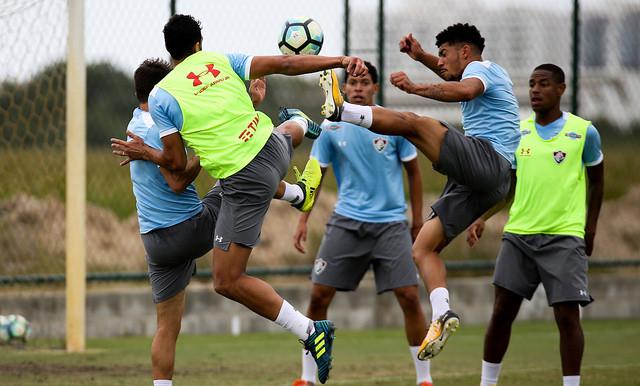 Fluminense: Elenco faz treino forte no CTPA