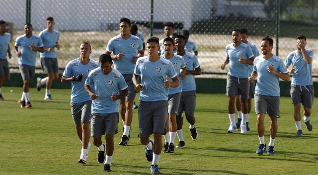 Fluminense faz último treino no Rio antes da viagem para Quito