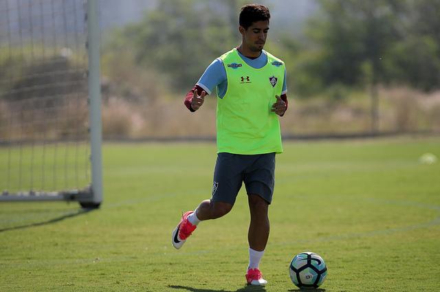 Fluminense volta a treinar no CTPA depois de viagens para BH e SP