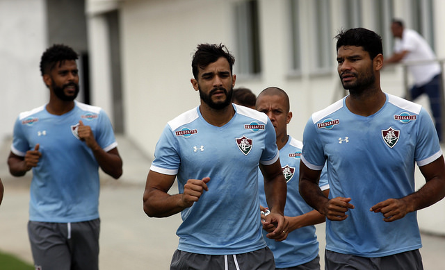 Fluminense: Elenco realiza treino físico no CTPA