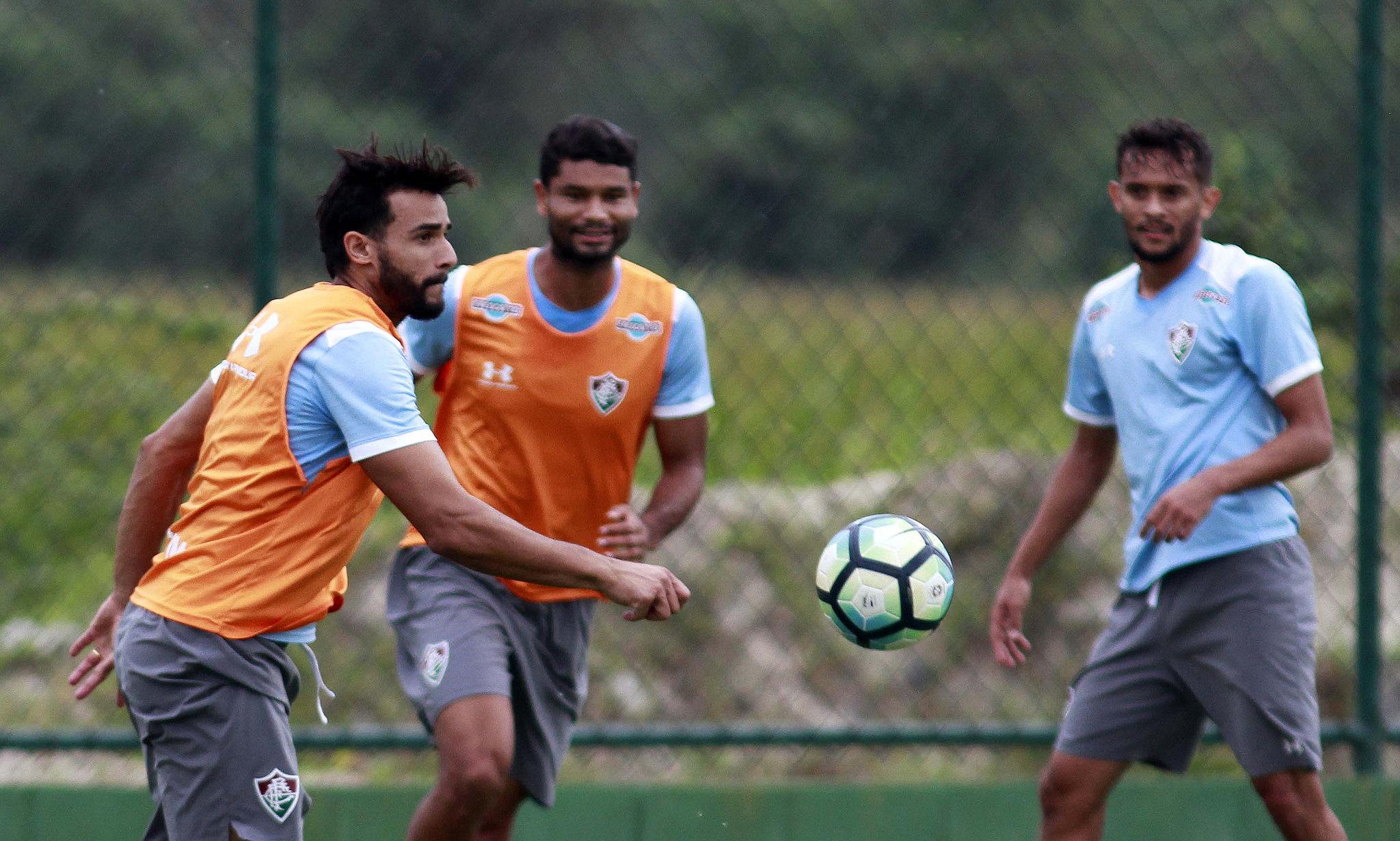 Equipe Tricolor realiza treino técnico nesta quinta-feira