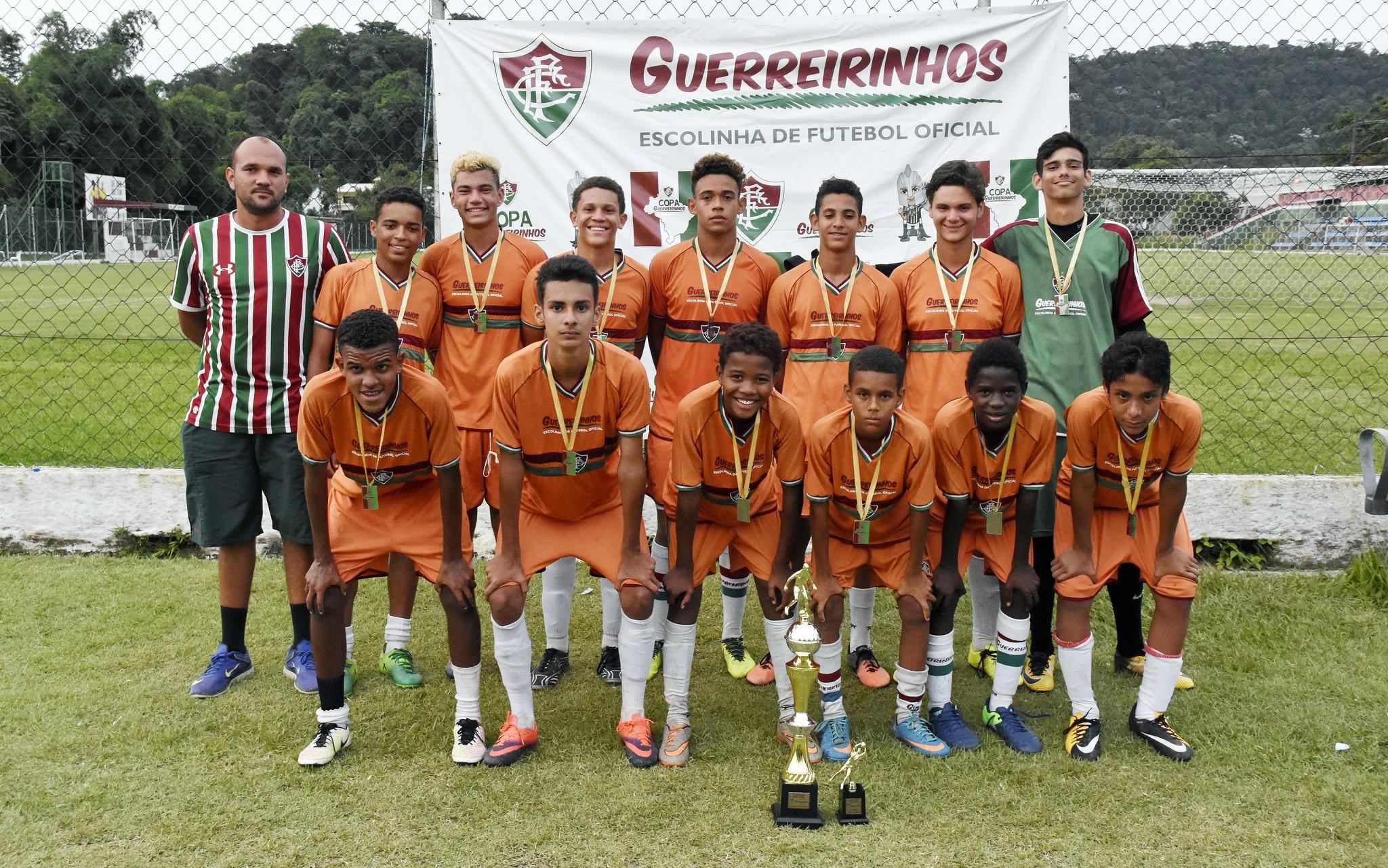 06cb84f165 Copa Guerreirinhos 2017 foi sucesso absoluto em Xerém ...