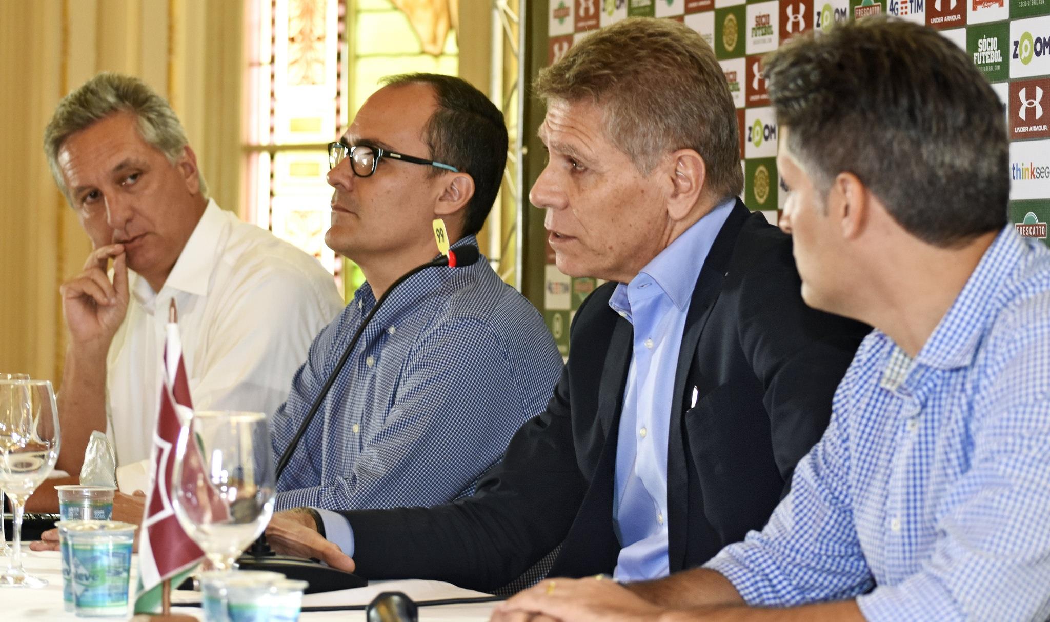 Fluminense: Paulo Autuori é apresentado nas Laranjeiras
