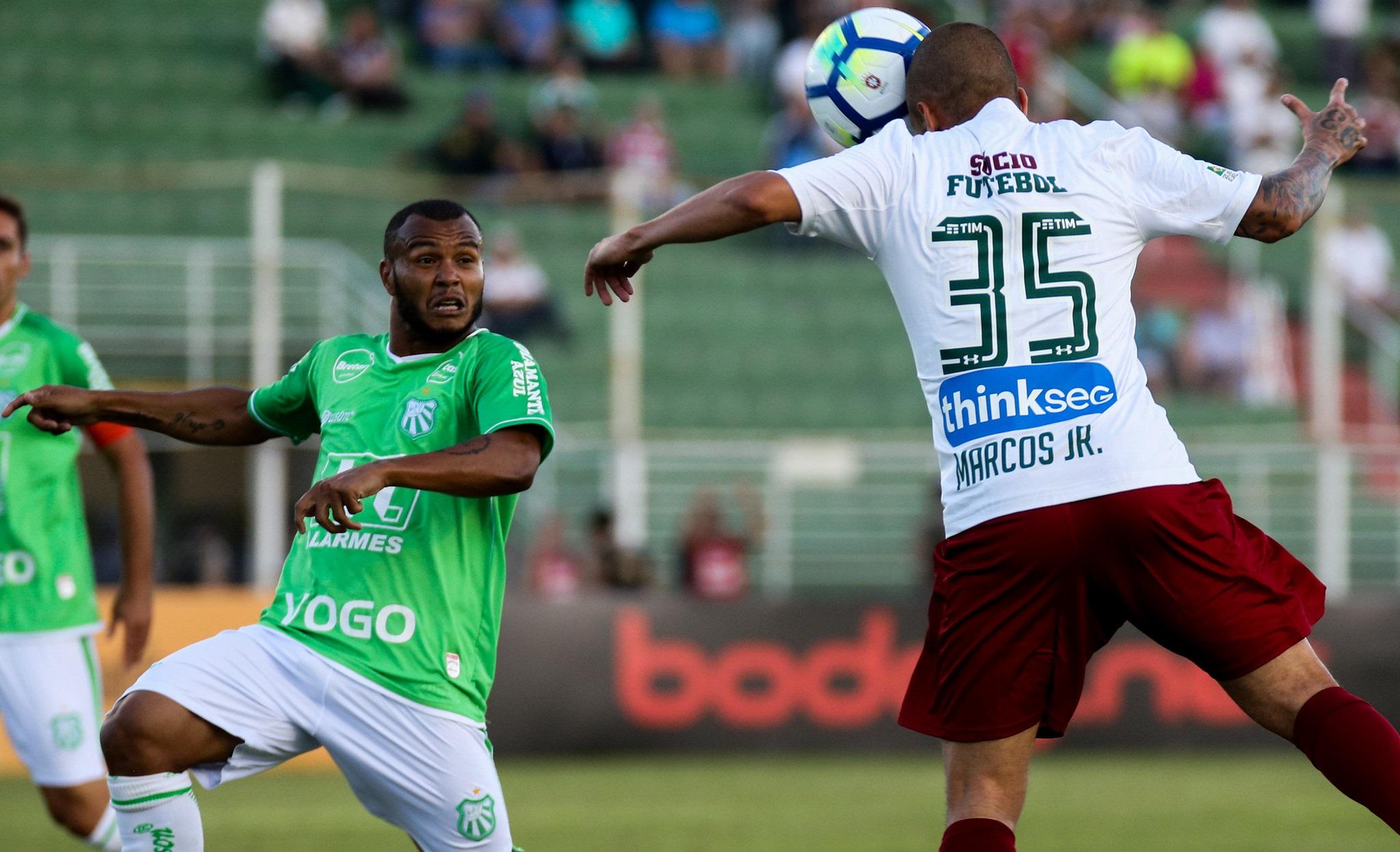 Fluminense vence a Caldense por 1 a 0 e está na segunda fase