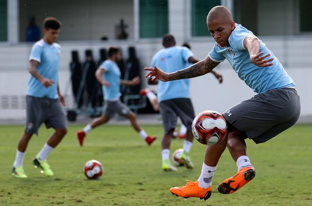 Fluminense realiza último treino antes de enfrentar o Vasco