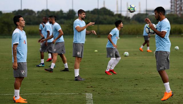 Fluminense realiza treino técnico no CTPA