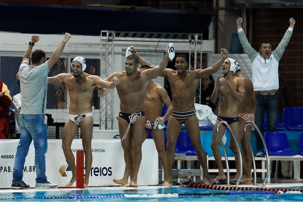 A equipe de polo aquático é bicampeã do Brasil Open. Neste sábado 6ffba0da2eb78