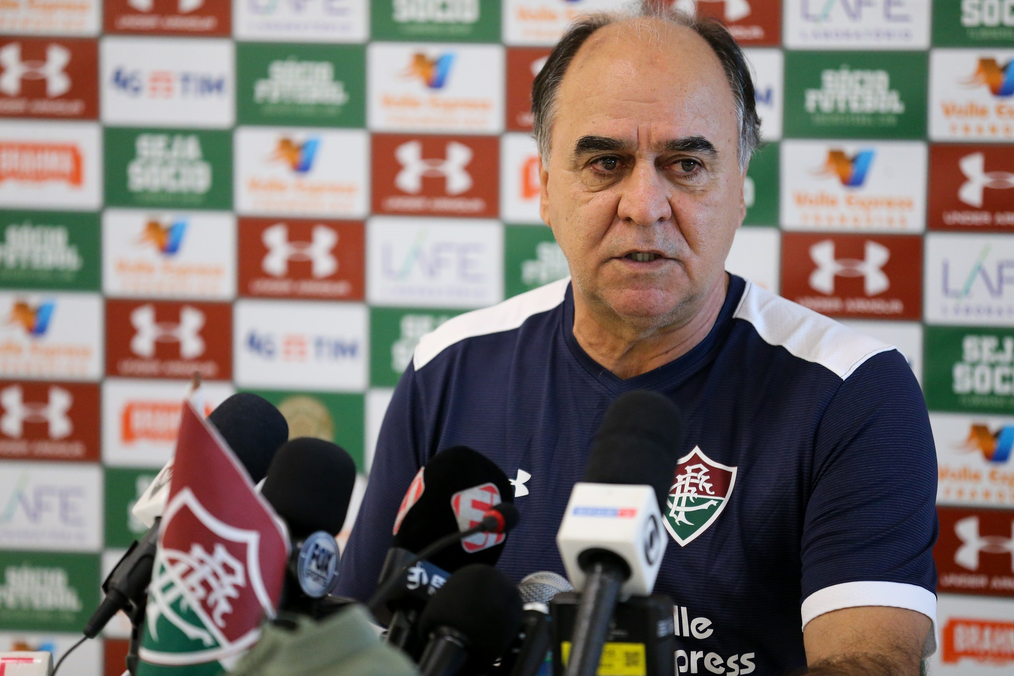 Marcelo Oliveira é apresentado como novo técnico do Fluminense