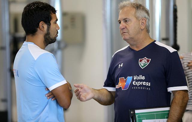 Fluminense: Elenco volta ao trabalho sob comando de Marcelo Oliveira
