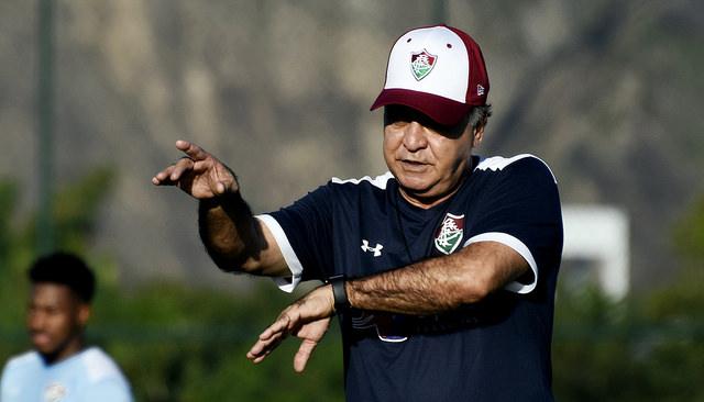 Fluminense treina pesado no CTPA