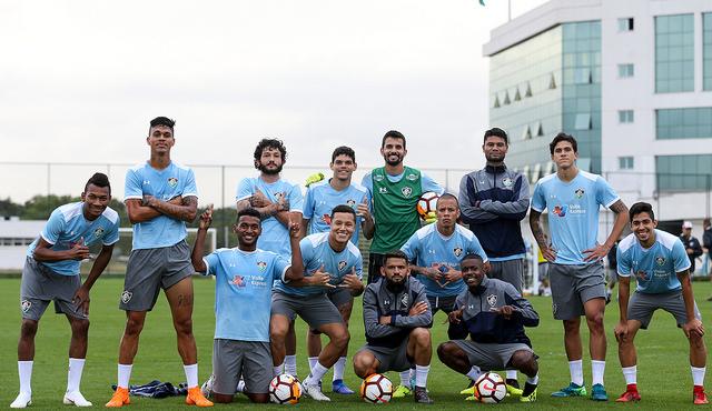 Fluminense encerra a preparação para enfrentar Defensor