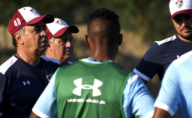 Fluminense: Equipe volta ao trabalho depois de vencer o Corinthians
