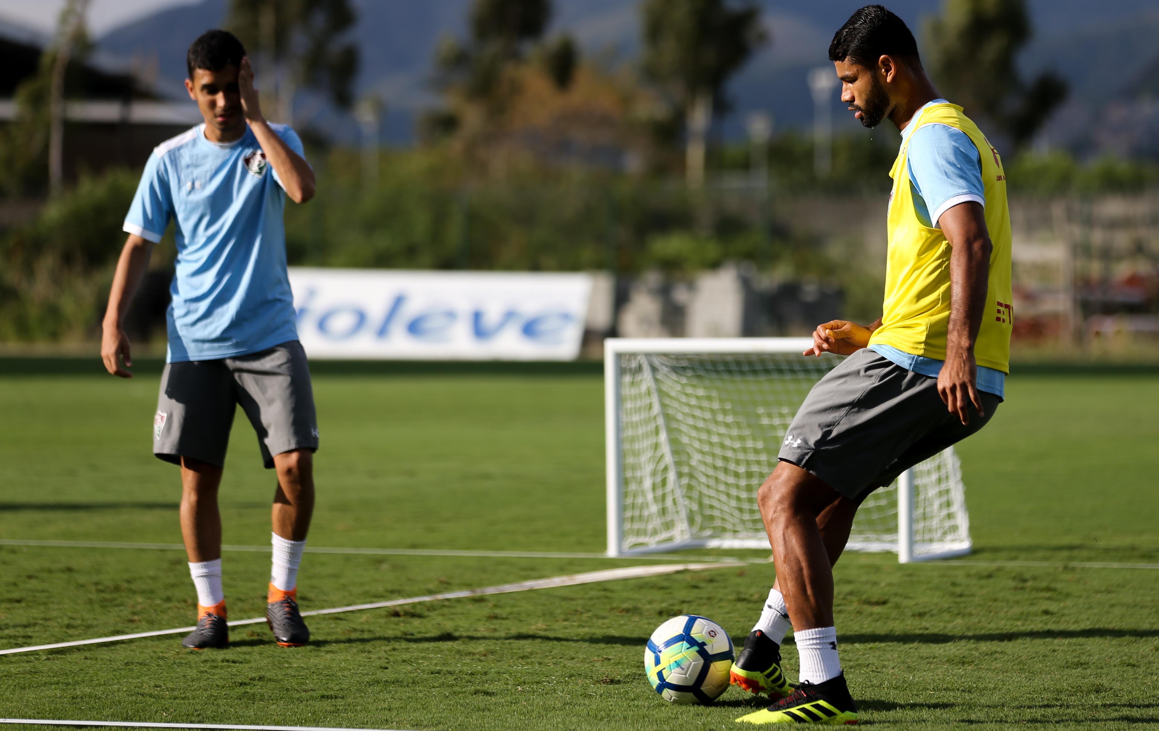 Fluminense segue preparação de olho no Vitória