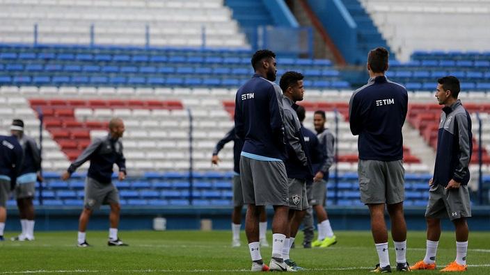 Flu conhece palco da decisão e faz último treino no Uruguai