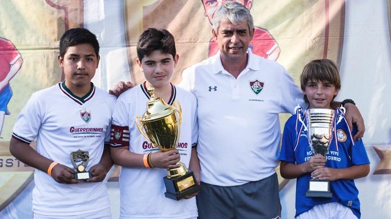 d17ab89c87 Guerreirinhos do Chile conquista dois títulos e destaca trabalho do Flu — Fluminense  Football Club