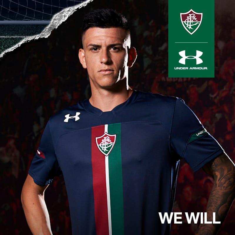 Fluminense e Under Armour lançam terceiro uniforme — Fluminense ... 0f77d36900b2e