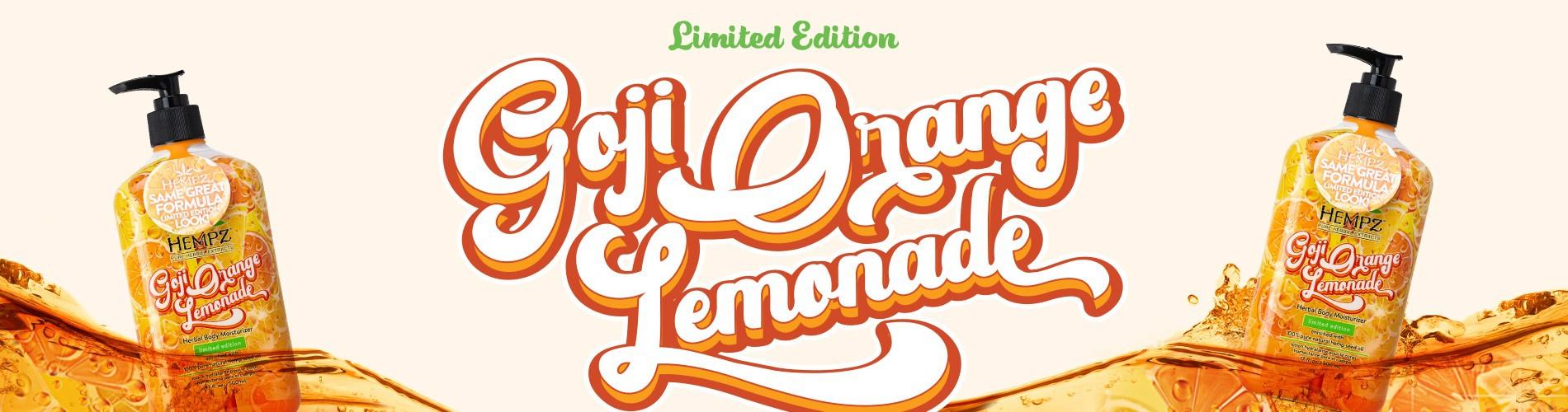Goji Orange Lemonade