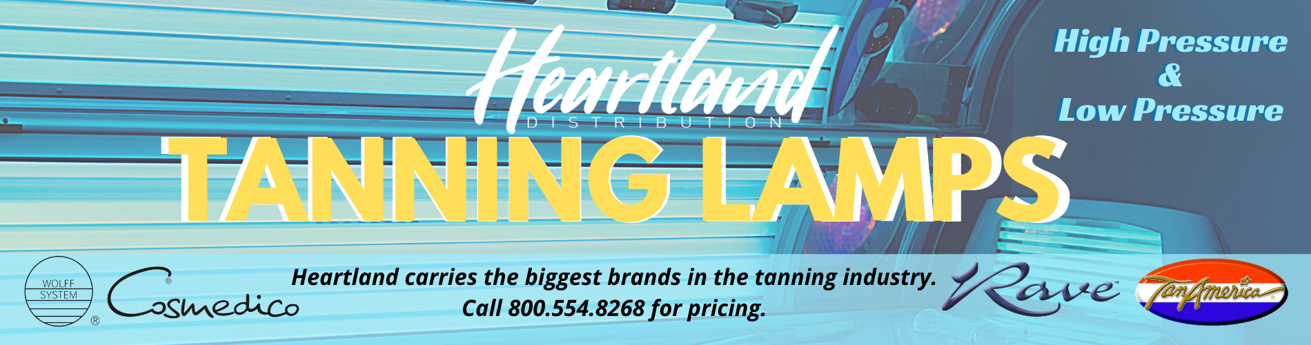 Heartland Tanning Lamps Banner