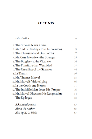 The Table of Contents in your print edition