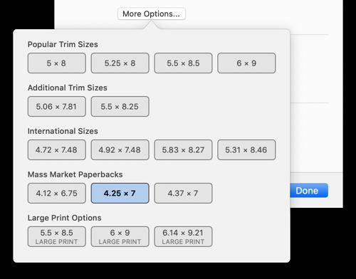 Creating a Mass Market Paperback | Vellum Help