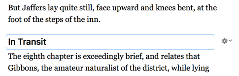 A Subhead in Vellum's Preview