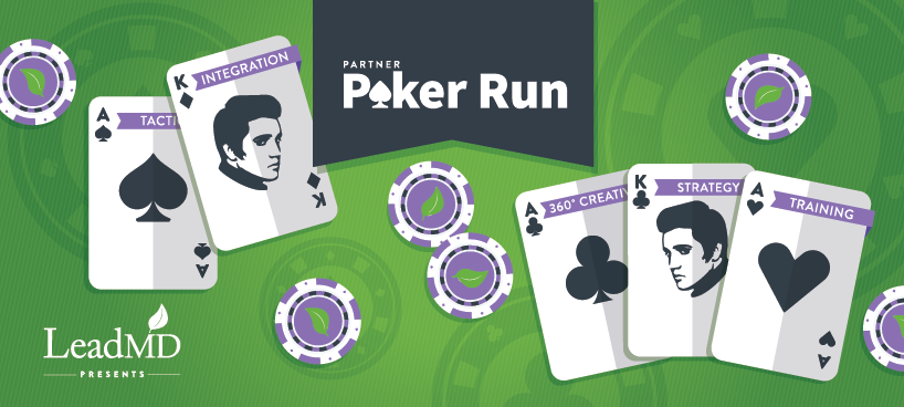 """are you all in? join leadmd for a marketo summit """"poker run"""""""