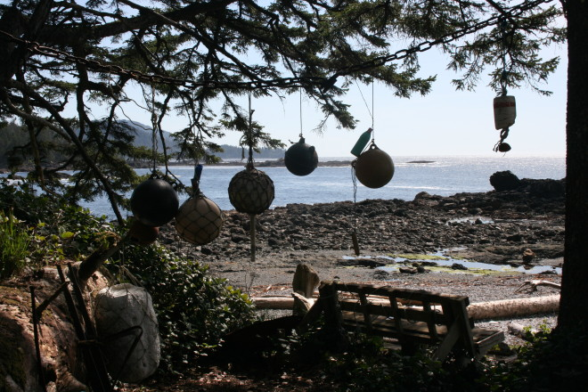 Buoy tree ornaments