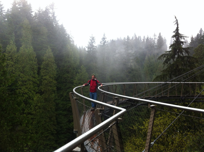 The Capilano cliffwalk