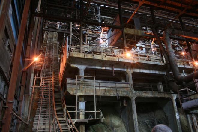 Inside the Britannia Mine Museum