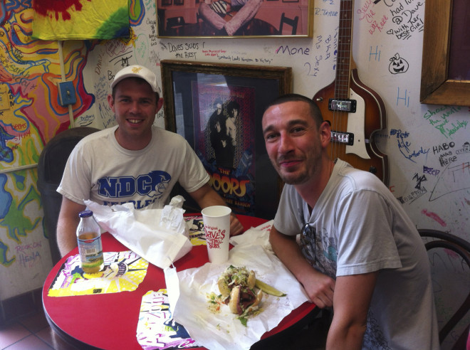 Lunch Dave's Cosmic Subs
