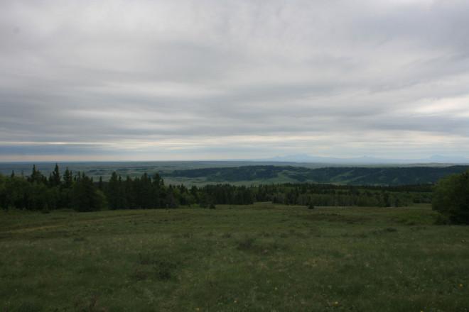 Views over Montana