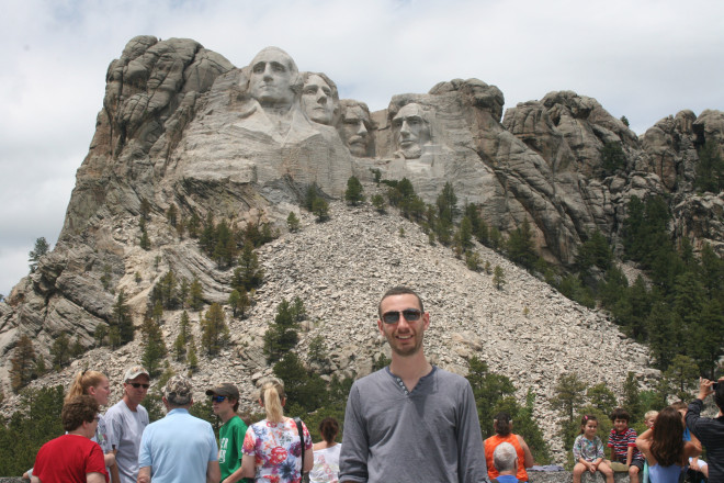 Mount Rushmore - which is real!