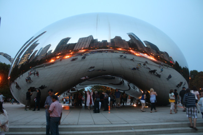 "No trip to Chicago would be complete without visiting ""the bean"""