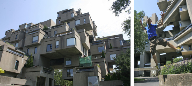 Messing around at Habitat 67