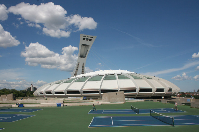 The 1976 Olympic Stadium