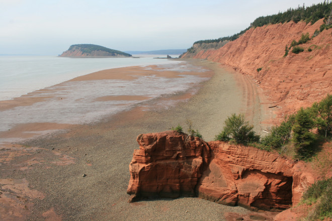 The Bay of Fundy, Nova Scotia