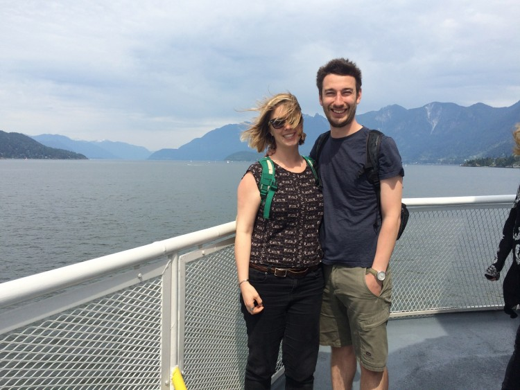 Taking the ferry off of Vancouver Island