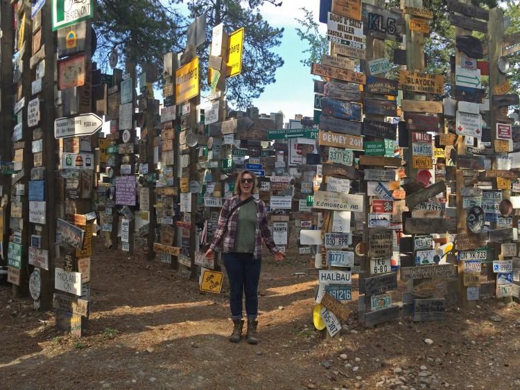 Watson Lake's Signpost Forest
