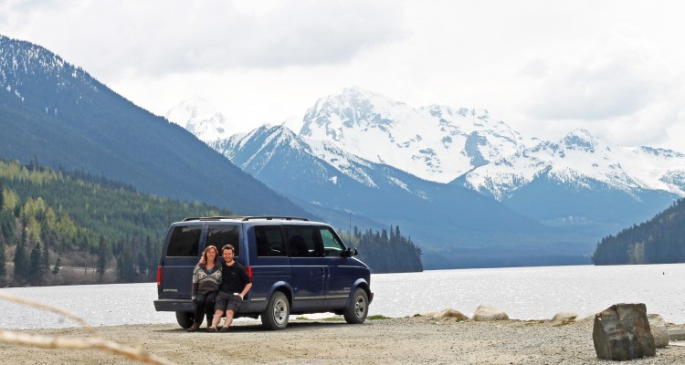 First trip in the van – Victoria, British Columbia to Whitehorse, Yukon