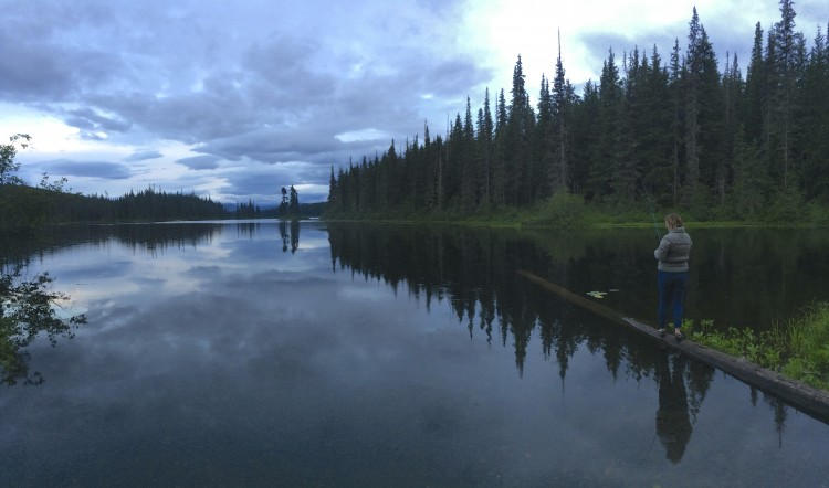 Fishing on the Stewart-Cassiar Highway